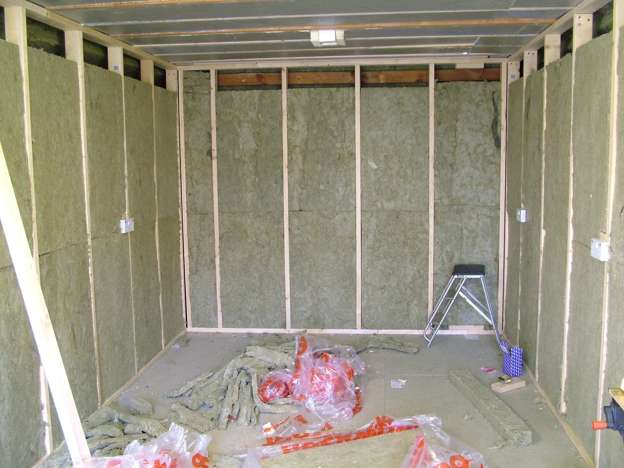 Soundproofing A Garage Construction